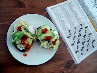 Avocadocottagecheese